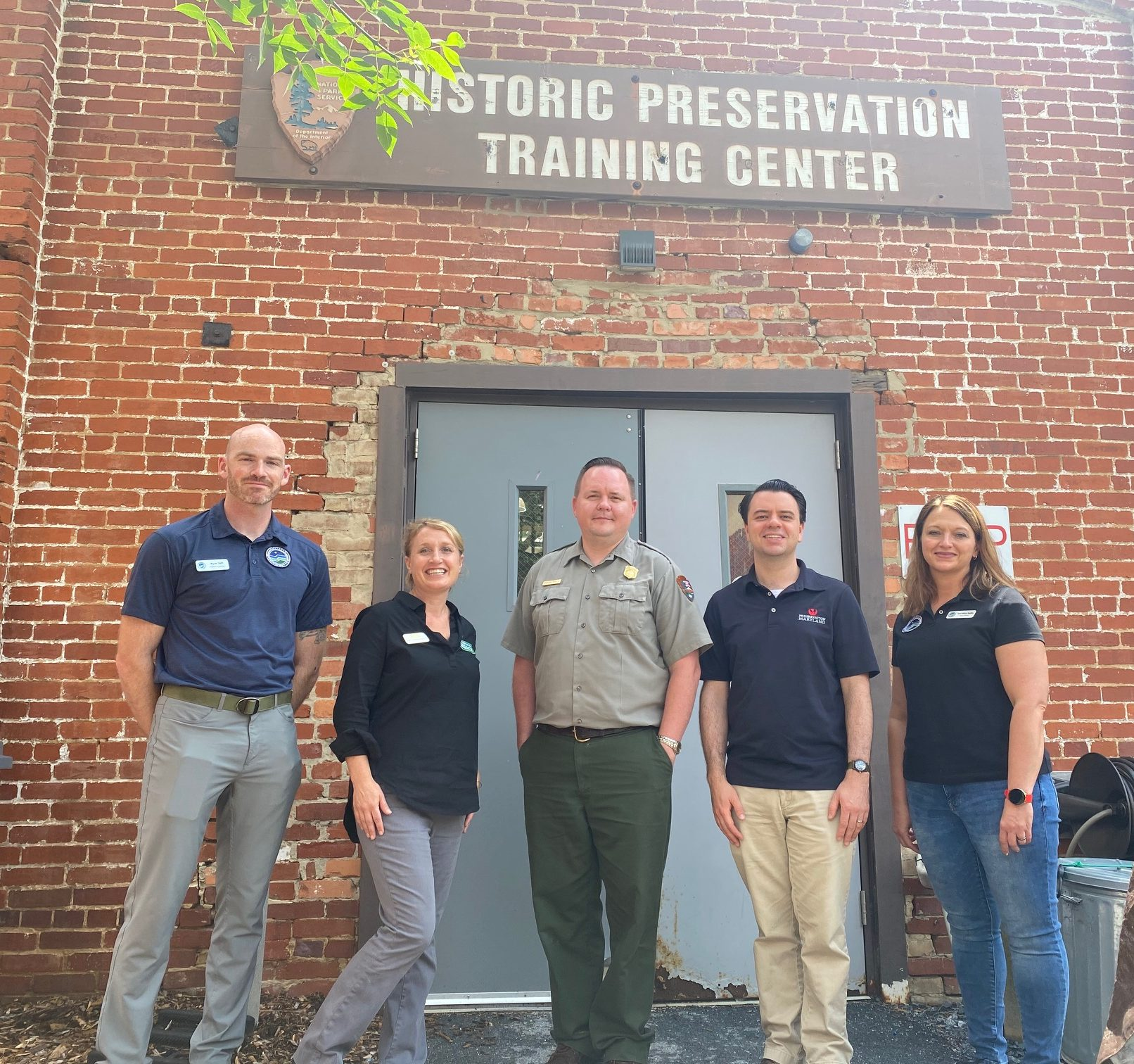Partners from Conservation Legacy, Campaign for Historic Trades and the National Parks Service